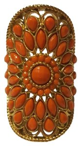Lia Sophia Gold band Orange fixtures