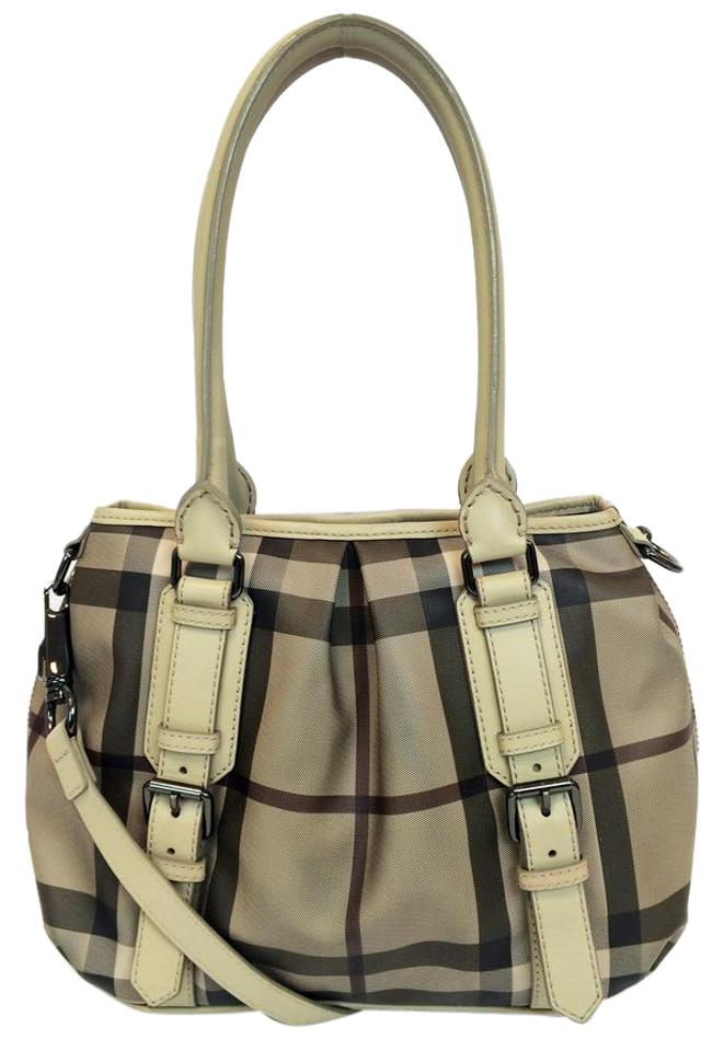 220e315ab318 Burberry Smoked Check Small Northfield Trench Tote in Beige Image 0 ...