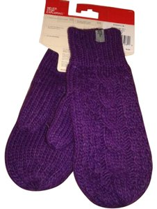The North Face TNF The North Face Women's Gloves Cable Knit Mitt TNF Gravity Purple