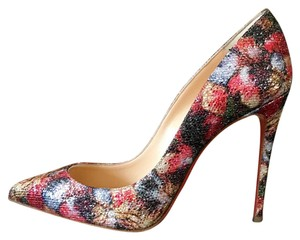 Christian Louboutin Pigalle Follies Glitter Plume Pigalle Glitter Pigalle Plume black Red White Pumps