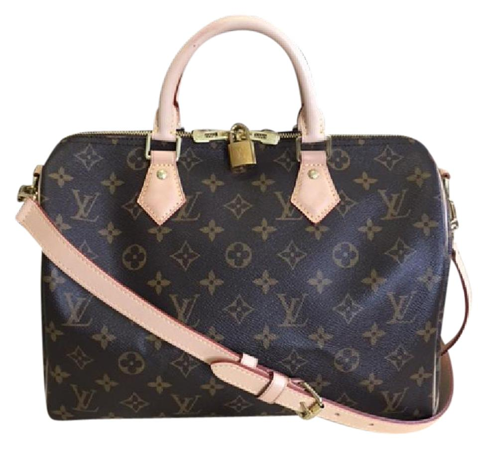 c31f7ae5856c Louis Vuitton Speedy 2016 Bandouliere 30 (Monogram) Canvas Leather Cross  Body Bag