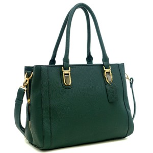 Other Classic Large Handbags The Treasured Hippie Vintage Tote in Dark Green
