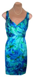 David Meister Lovely Colors Excel Gently Used Priced To Sell Fast Shipping Dress
