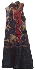 Custo Barcelona short dress multi color on Tradesy