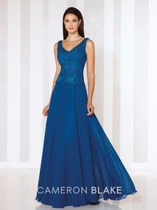 Cameron Blake Persian Blue 116654 Dress