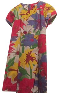 See by Chloé short dress bright colorful flowers on Tradesy