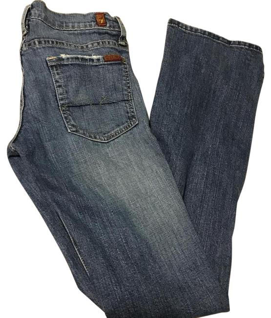 Preload https://img-static.tradesy.com/item/20461211/7-for-all-mankind-blue-distressed-boot-cut-jeans-size-27-4-s-0-1-650-650.jpg