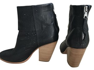 Rag & Bone And Hard To Find Versitile Black Mesh Boots
