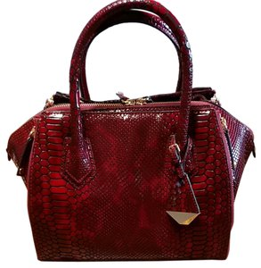 Rebecca Minkoff Satchel in Bordeaux (deep red)