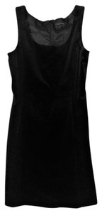 Theory Vintage Shift A-line Velvet Cocktail Dress