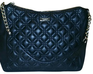 Kate Spade Quilted Diamond Chain & Leather Shoulder Bag