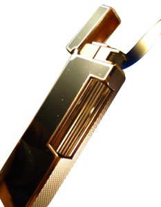 Alfred Dunhill Dunhill Rollagas Gold Plated Lighter