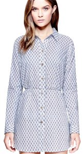 Tory Burch Boris Belted Tunic Cover up