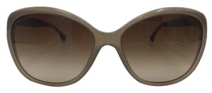 Chanel Cat Eye Taupe Crystal Chanel Sunglasses 5309-B c.1416/S6 59