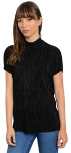 Other Simple Minimal Spring Summer Top BLACK