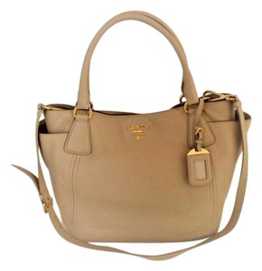 Prada Tote in Soft Beige