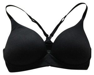 Victoria's Secret Bra Racer-back Bra Top Black