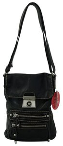 Kate Landry Black Cross Body Bag