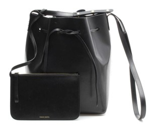 Mansur Gavriel Bucket Leather Cross Body Bag