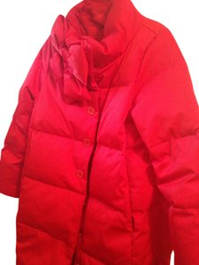 Kate Spade Down Winter Puffer Snow Bow Coat