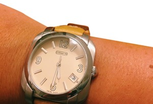 Coach Coach Leather Watch