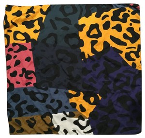 Zara Colorful Leopard Scarf