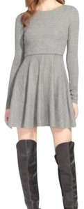Alice + Olivia short dress Grey + + & And on Tradesy