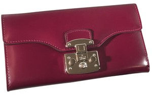 Gucci Plum Clutch