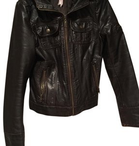 M60 Mid 60 brown Leather Jacket