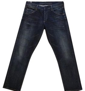 Citizens of Humanity Relaxed Fit Jeans-Dark Rinse