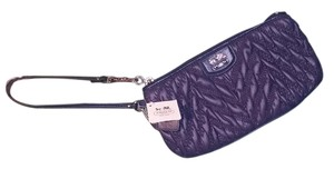 Coach New Id Case Wristlet in Navy Blue
