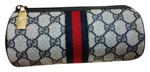 Gucci Vintage Unused New Gucci Navy Cosmetic Travel