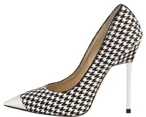 Michael Kors black, white and silver Pumps
