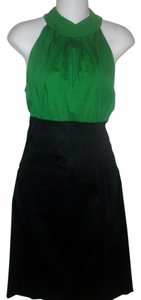 Maurices short dress Green and Black Vintage on Tradesy
