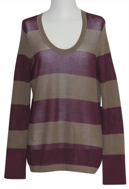 Preload https://img-static.tradesy.com/item/204630/tommy-bahama-burgundytan-new-xl-sweaterpullover-size-16-xl-plus-0x-0-0-650-650.jpg