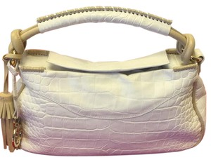 Giorgio Armani Satchel in white and natural