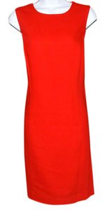 Harold Powell Designer Wool Fully Lined Sleeveless Dress