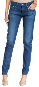 AG Adriano Goldschmied Tomboy Boyfriend Cut Jeans-Medium Wash