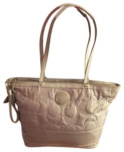 Coach Tote in Gray