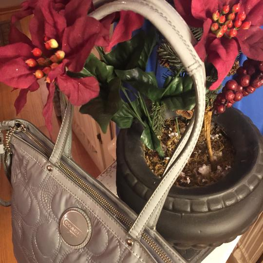 Coach Tote in Gray Image 11