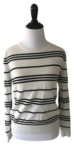 Banana Republic Striped Casual Work Fun Sweater