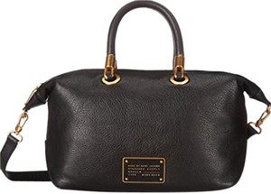 Marc by Marc Jacobs Satchel in Black - Gold
