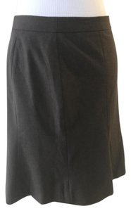 Ann Taylor LOFT Pencil Formal Petit Skirt Brown