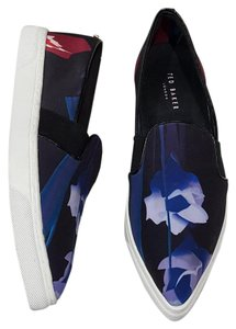 Ted Baker Thfia Graphic Slip On Floral Flats