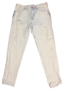 Bullhead Denim Co. Boyfriend Cut Jeans-Light Wash