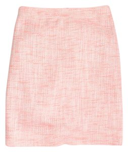 J.Crew Glittery Mini Skirt Pink, with silver shimmery thread