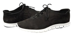 Cole Haan Sneaker Perforated Trainer Zerogrand Black Athletic