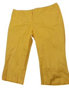 Erin London Capris Yellow