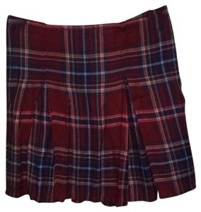 Abercrombie & Fitch Mini Skirt burgundy, navy