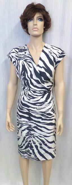 Lafayette 148 New York short dress Multi Animal Print Silk on Tradesy Image 1